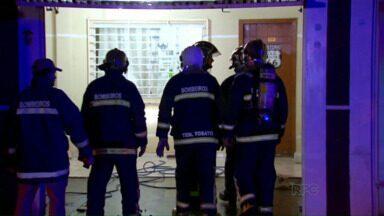 Bombeiros controlam princípio de incêndio - Ninguém ficou ferido