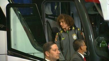 Selecao Brasileira ja esta no Chile para a estreia pela Copa America - Time enfrenta o Peru neste domingo
