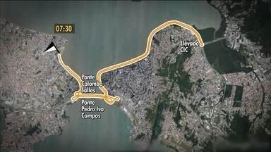 Meia Maratona de Florianópolis acontece neste domingo (14) na Beira Mar Continental - Meia Maratona de Florianópolis acontece neste domingo (14) na Beira Mar Continental