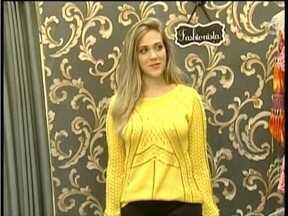 Tendência da moda crochê volta com tudo no inverno - O crochê voltou com uma nova cara e conquistou o público feminino.