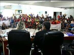 Reunião discute direito de famílias permanecerem em Campos Lindos - Reunião discute direito de famílias permanecerem em Campos Lindos
