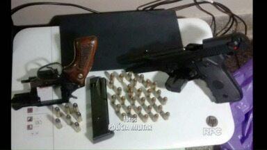 Polícia prende quadrilha em Ponta Grossa - Bandidos eram especializados em falsificação e venda ilegal de armas.