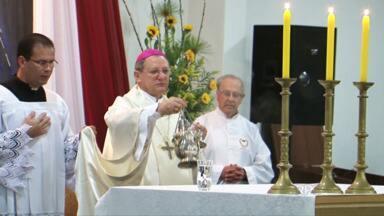 Bispo assume Diocese de União da Vitória - Dom Agenor Girardi é novo bispo da Diocese de União da Vitória