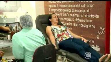 Hemopi faz apelo para aumentar número de doadores de sangue - Hemopi faz apelo para aumentar número de doadores de sangue
