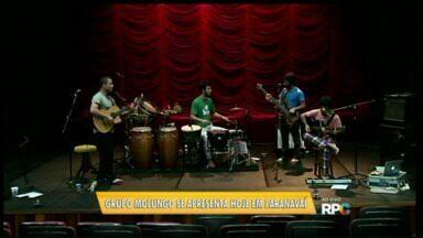 Grupo de Curitiba faz apresentação musical de graça em Paranavaí - Mulengo vai se apresentar também em Cianorte.
