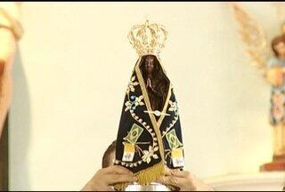 Missa de encerramento da visita da imagem peregrina de N. S. Aparecida acontece em MOC - Imagem retorna para Santuário Nacional de Aparecida.