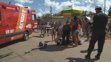 Em Porto Velho, moradores da Zona Leste reclamam da violência no trânsito - Mais um acidente foi registrado neste sábado, em um cruzamento.