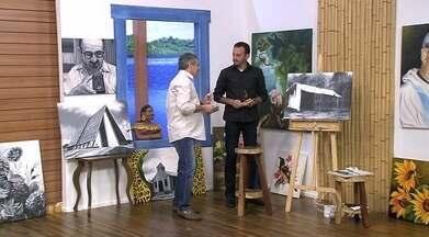Canto das Artes: Pescuma conversa com o artista Andrio Pereira - Canto das Artes: Pescuma conversa com o artista Andrio Pereira