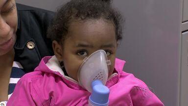 Mudança de temperatura aumenta casos de doenças respiratórias - Inverno começa no próximo domingo (21). Crianças e idosos devem ter cuidados especiais.
