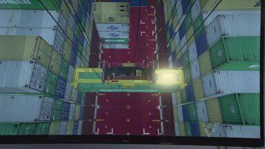 Tecnologia ajuda em treinamentos para embarcar e desembarcar conteiners - Capacitação de profissionais ganhou aliados