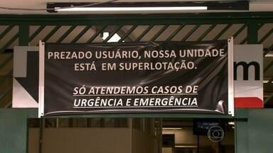 Hospital São Paulo suspende internações que não forem de emergência - O Hospital da Universidade Federal de São Paulo, referência em atendimento de alta complexidade, passa por uma grave crise financeira e está superlotado.