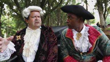 Hoje é dia de subir a serra: História - Alexandre Henderson sobe a serra e chega em Petrópolis. Faz uma viagem no tempo com o historiador Milton Teixeira, que conta um pouco da história da cidade imperial
