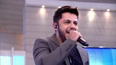 Fátima relembra momentos de Cristiano Araújo no Encontro - Convidados repercutem o acidente do cantor sertanejo
