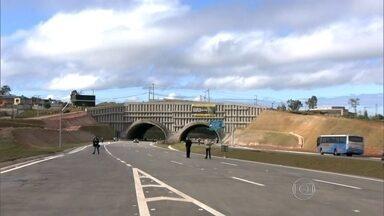 Governo inaugura Trecho Leste do Rodoanel - Agora, só falta a conclusão do Trecho Norte do anel viário. A obra deve ficar completa em 2017.