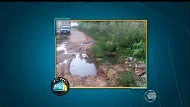 VC no PI TV: telespectador denuncia mato e lama e pede limpeza - VC no PI TV: telespectador denuncia mato e lama e pede limpeza