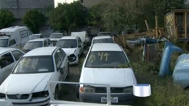 Prefeitura de Taubaté vai leiloar carros - Prefeitura alega que frota está sucateada.