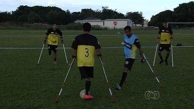 Vila marca presença no Campeonato Paulista de futebol de amputados - Time do clube goiano se prepara para a competição, a ser realizada em julho