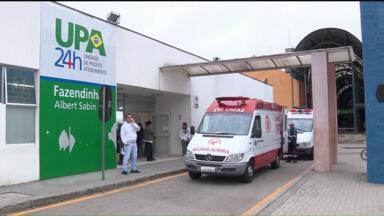 Polícia e MP investigam a morte da paciente que esperava por atendimento em posto de saúde - Delegado fala na possibilidade de negligência no atendimento à paciente Maria da Luz, que esperou mais de 3 horas por atendimento em Curitiba.