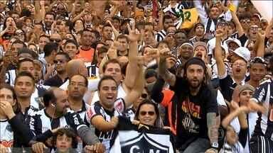 Com apoio da torcida, Atlético-MG vence Joinville, pelo Brasileirão - Galo põe mais de 55 mil torcedores no Mineirão e bate recorde no horário da manhã.