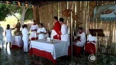 Moradores do Poti Velho celebram Dia de São Pedro com procissão pluvial - Moradores do Poti Velho celebram Dia de São Pedro