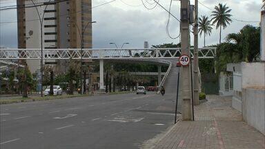 Velocidade máxima permitida no viaduto do Cocó será de 40 km/h - Motorista que dirigir acima dessa velocidade será multado.