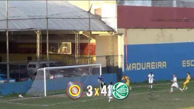 Juventude vence Madureira de virada na Série C - Foi a primeira vitória da equipe na competição.