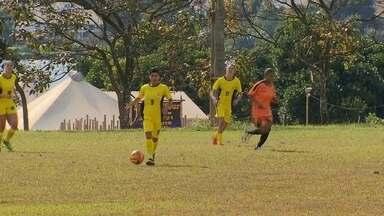 Atual campeão, Cresspom estreia com vitória sobre Legião no Candangão feminino de futebol - Vit'oria foi por 8 a 0.