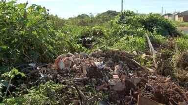 Moradores denunciam despejo de lixo em terreno da prefeitura no bairro Oliveira I - O Tereré com Cabral foi verificar as reclamações que foram enviadas pelo aplicativo Bem na Hora