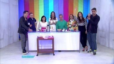 Apresentadores do 'É de Casa' falam sobre as atrações do novo programa da TV Globo - Culinária e esportes estarão entre os temas
