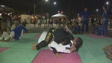 Jiu-jitsu é opção do projeto Faixa Liberada, em Manaus - Modalidade esportiva é uma das disponíveis na Zona Leste da capital amazonense. Confira!
