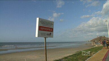 Relatório aponta que praias de São Luís estão impróprias para o banho - Relatório aponta que praias de São Luís estão impróprias para o banho