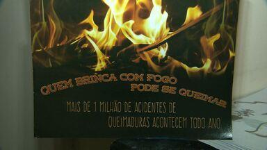 Já são 23 pessoas vítimas de queimaduras com fogos em Campina Grande - Casos tem chegado menos graves.