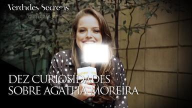 Agatha Moreira fingia ser fã de cantores só para ter amigas - Descubra no vídeo essa e outras curiosidades divertidas sobre a Giovanna de 'Verdades Secretas'