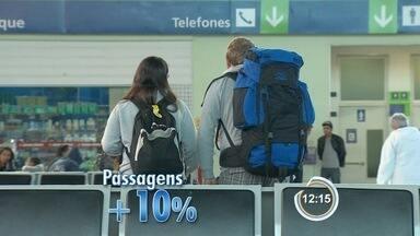 Produtos mais consumidos nas férias de julho estão mais caros este ano - Pesquisa da FGV aponta que inflação foi de 8,3% nos últimos 12 meses.