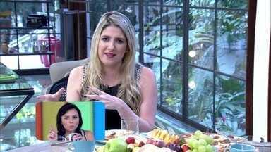 Dani Calabresa brinca e diz que não é amiga de Monica Iozzi - Atriz fala de amizade durante participação no Mais Você