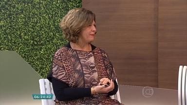 Psicopedagoga explica a relação entre crianças e o uso diário da tecnologia - Entrevista ao vivo no estúdio com Cristina Silveira.