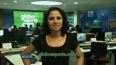 Confira os destaques do GloboEsporte.com nesta terça-feira (14) - globoesporte.com/ce.