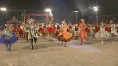 Apuração define vencedores das quadrilhas no Arraial Flor do Maracujá - Torcida aguardou ansiosa os resultados.
