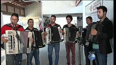 Juazeiro, no norte do estado, recebe o Festival Internacional da Sanfona - Confira os detalhes da terceira edição do evento que traz músicos do Brasil e de fora.