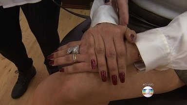 Manter unhas bonitas e saudáveis é uma preocupação das mulheres; veja dicas - Entrevista o vivo com a manicure Juscilene Fernandes.