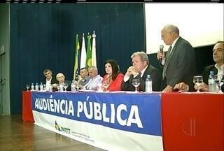 Audiência pública discute implantação de rodovia que irá passar pelo Norte Fluminense - Audiência acontece em Campos.