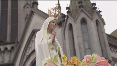 Igreja Coração de Maria completa 100 anos - Neste domingo (19) haverá uma grande festa no campo da Portuguesa Santista. A Igreja vai comemorar também a chegada da imagem peregrina de Nossa Senhora de Fátima.