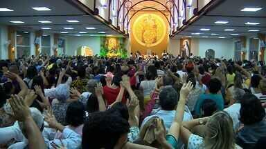 Encerrada novena que celebra Nossa Senhora do Carmo - Encerrada novena que celebra Nossa Senhora do Carmo.