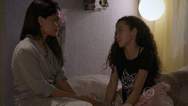 Delma diz a Tomtom que não pode namorar René - Tomtom não entende por que a mãe não pode ficar com o ex-marido da amiga