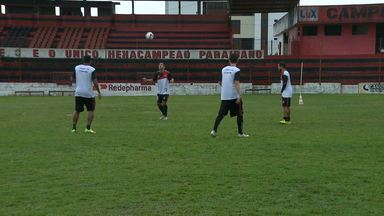 Campinense se prepara para pegar o Colo Colo em Ilhéus, na Bahia - Jogo pela Série D acontece neste domingo à tarde