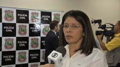 Polícia prende suspeitos de matarem gaúcha no Ceará - Suspeitos foram apresentados nesta segunda.