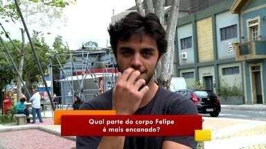 Bruno Gissoni e Felipe Simas duelam no 'Teste da Irmandade' - Apresentadores do Vídeo Show falam do Dia do Amigo
