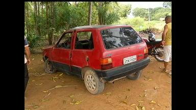 Carro capota e deixa três pessoas feridas em Mojuí dos Campos, PA - Acidente aconteceu na tarde desta segunda-feira (20).