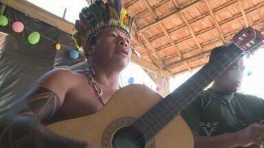 Aldeia indígena faz festa para comemorar dois anos de existência - Aldeia fica em Eldorado, no Vale do Ribeira