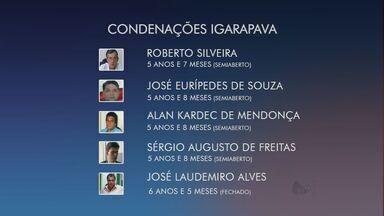 Justiça condena 5 ex-vereadores de Igarapava por formação de quadrilha e concussão - Eles são acusados também de fazerem a nomeação de funcionários sem concurso público.